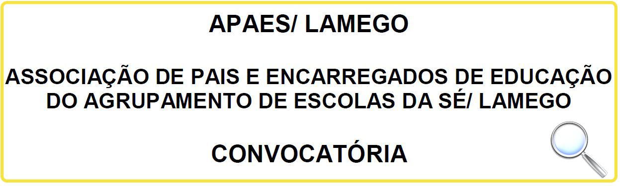 APAES Convocatoria